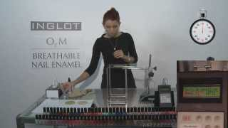 INGLOT O2M Nail Enamel Water Permeability Proven in a Lab Test thumbnail