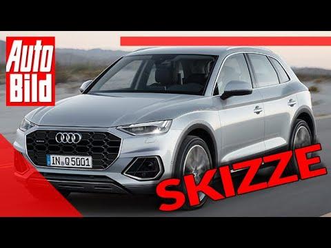 Audi Q5 Facelift 2020 Auto Neuvorstellung Skizze Suv Infos