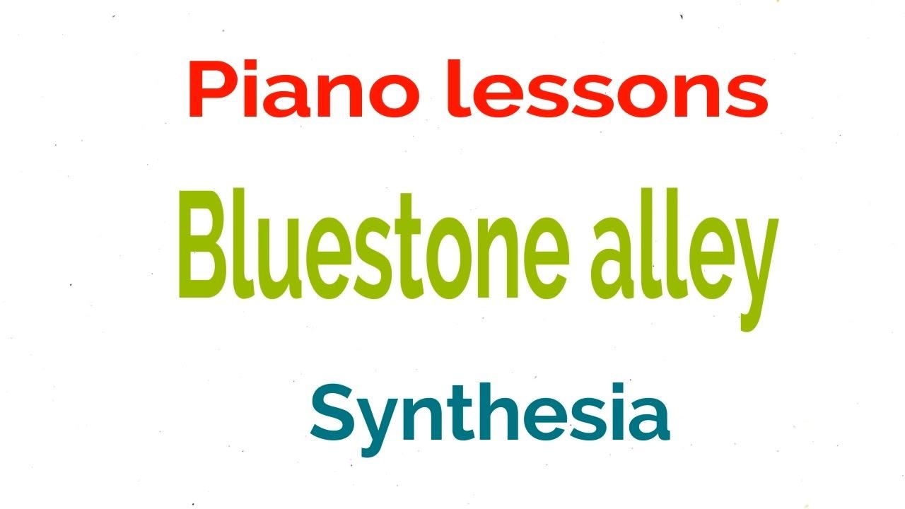 Bluestone Alley by Congfei Wei [Synthesia] partituras y ...
