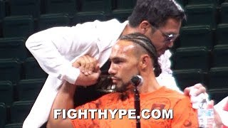KEITH THURMAN RATES PACQUIAO'S POWER AND SKILLS; KEEPS IT REAL ON KNOCKDOWN AND BODY SHOT