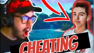 Typical Gamer *CAUGHT* A Pro Player CHEATING In Friday Fortnite!