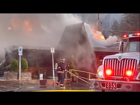 Mt. Charleston Lodge fire: 'Heartbreaking' loss for all of Las Vegas