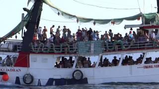 Chorvatsko - loď Makarski Jadran