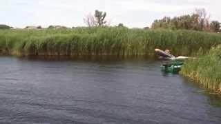 Kolibri 360 DSL. Мерк-15. Первый выход на воду.