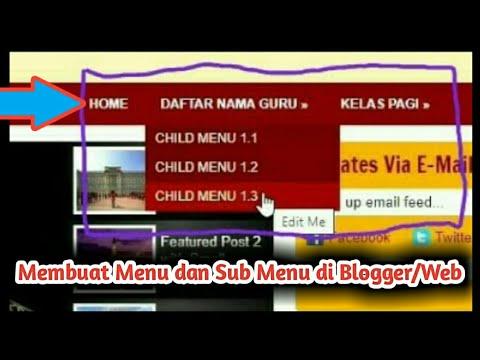 cara-membuat-menu-dan-sub-menu-di-blogger/web