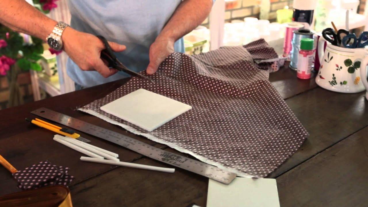 Sonha Artesanato Sorocaba ~ Quadro de fotos com tecidos variados Marcelo Darghan YouTube