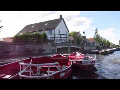 Bootstour in Giethoorn auch klein Venedig genannt in Holland