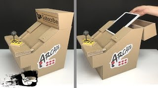 Game | How To make an arcade game machine using Pad | How To make an arcade game machine using Pad