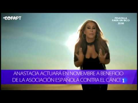 Anastacia - Interview for Solo Moda, Tve, Spain 21052014