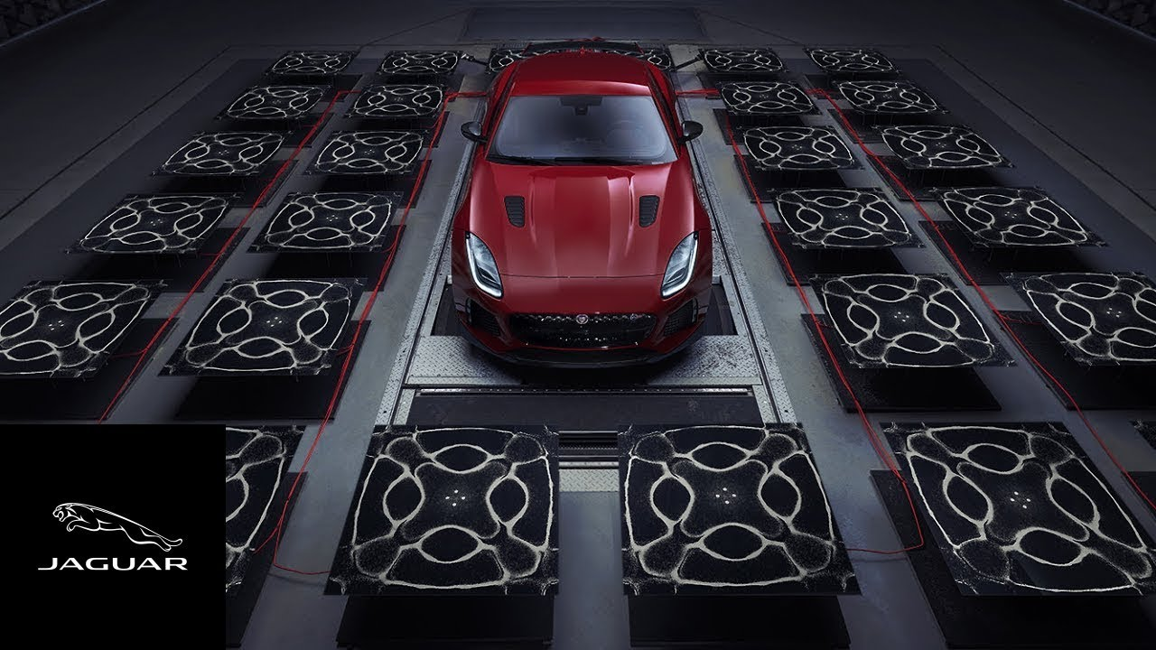 Jaguar F-TYPE SVR | The Art of Sound - YouTube
