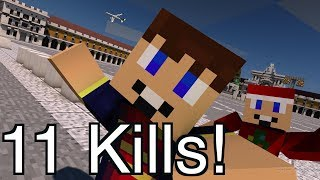Getting 11 Kills In Hunger Games....