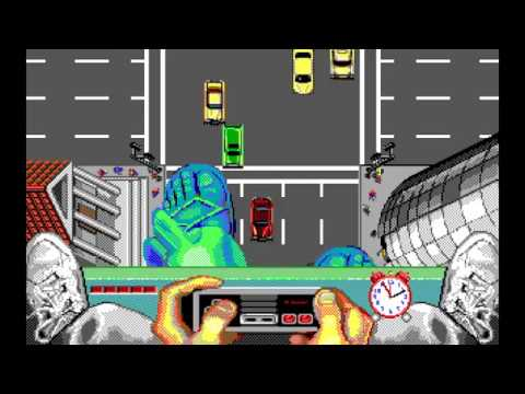 Ghostbusters II (DOS) Full Playthrough