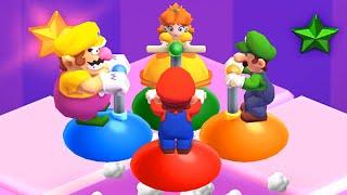 Mario Party The Top 100 Minigames - Mario vs Luigi vs Peach vs Wario