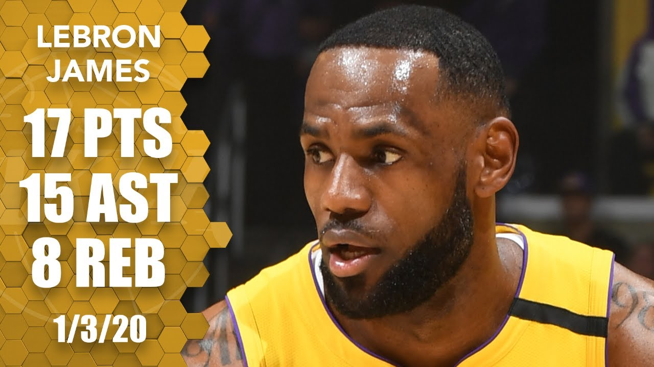 LeBron drops 15 dimes, eight to Anthony Davis, in Pelicans vs. Lakers | 2019-20 NBA Highlights