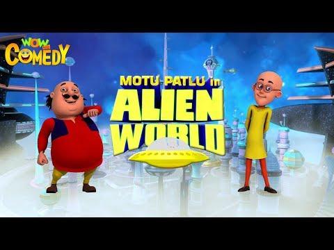 Motu Patlu in Alien World   Movie Promo   Kids animated movies   Wowkidz Comedy thumbnail