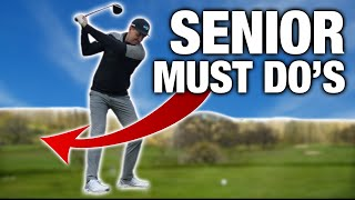 3 MUST DO'S For All Golfers ESPECIALLY Senior Golfers | ME AND MY GOLF