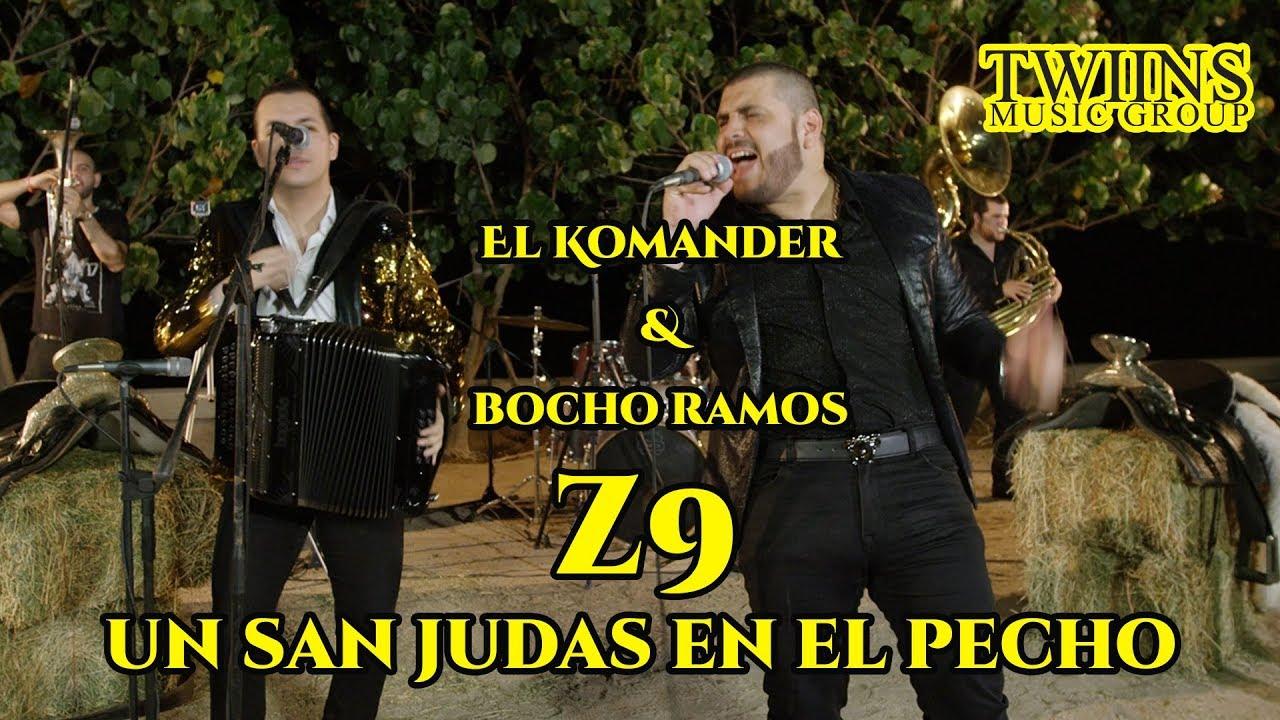 Download El Komander y Bocho Ramos - Z9 (Un San Judas En El Pecho) Twiins Music Group