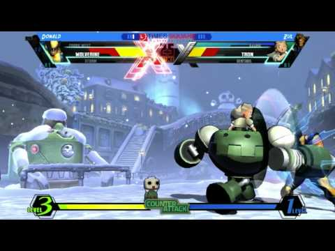 Brunei Times Square UMVC3 - Donald [Wolverine/Frank/Storm] Vs Zul [Tron/Sentinel/Akuma]
