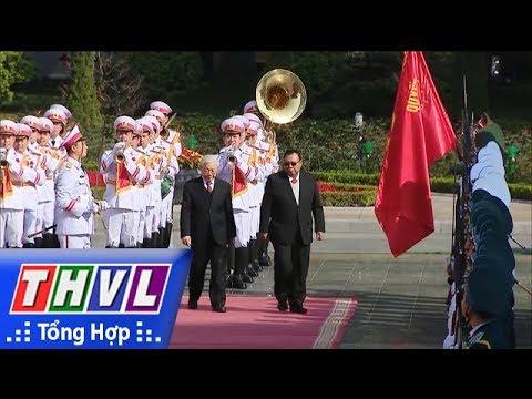 THVL | Tổng Bí thư, Chủ tịch nước Cộng hòa dân chủ nhân dân Lào thăm hữu nghị chính thức Việt Nam