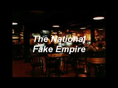 The National - Fake Empire (Lyrics) (Sub. Español) LIVE version.