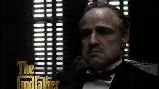 The Godfather - 25th Anniversary Collection (1997) Trailer (VHS Capture)