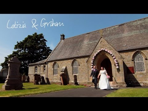 Brig O'Doon House Hotel wedding - Letizia & Graham