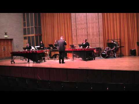 Ney Rosauro - Concerto No. 1 for Marimba and Percussion Ensemble - I. Saudacao