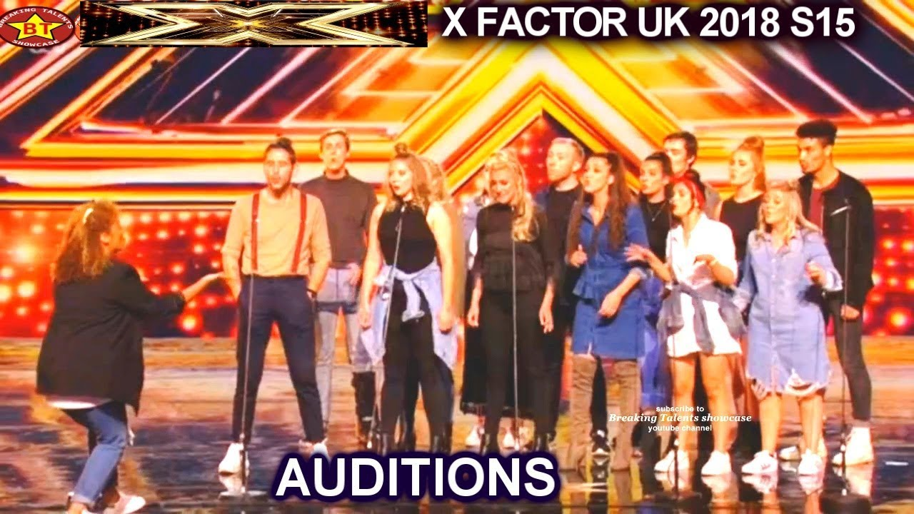 """LMA Choir sings JOYOUS """"This Is Me"""" AWESOME AUDITIONS week 3 X Factor UK  2018"""