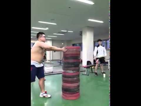 Amazing vertical jump