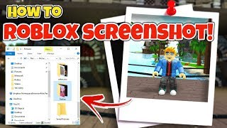 How To Take a Roblox Screenshot | Where To Find My Roblox Screenshot [EASY!]