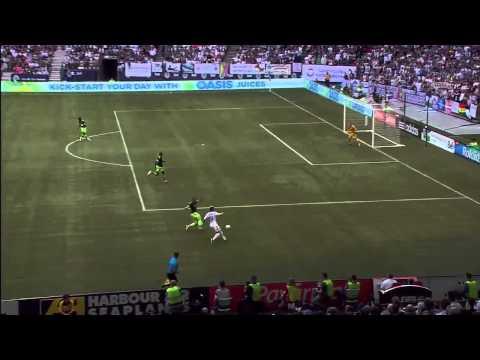 Erik Hurtado goal versus Seattle