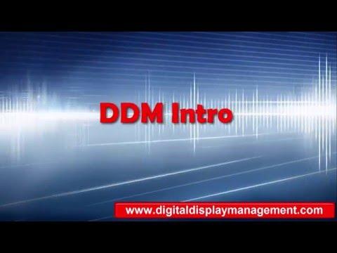 1. Digital Display Management-Manual intro