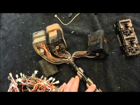 5 0 Explorer OBD2 Swap Harness Re work part 2 - YouTube  Swap Wiring Harness on 6.0 powerstroke swap, s62 e30 swap, 4 6 engine swap, bmw 2002 engine swap,