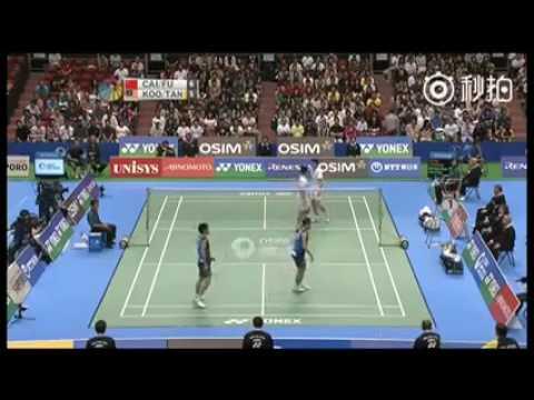 Cai yun fu haifeng 蔡赟 - biased umpire