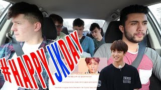 NON KPOP FANS REACT TO BTS JUNGKOOK - EUPHORIA +LIVE PERFORMANCE | Car ride edition | #happyjkday