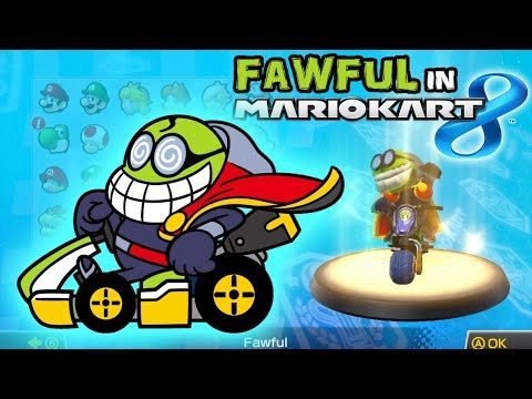 fawful is in mario kart 8 youtube