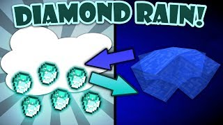 If Rain and Diamonds Switched Places - Minecraft