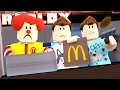 Roblox Adventures - DENIS, ALEX & SUB GET A JOB AT MCDONALDS! (Fast Food Restaurant Obby)