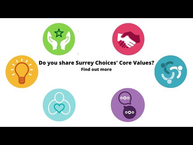 Surrey Choices Core Values