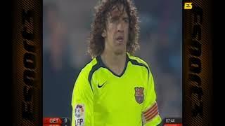 Season 2005/2006. getafe cf - fc barcelona 1:3