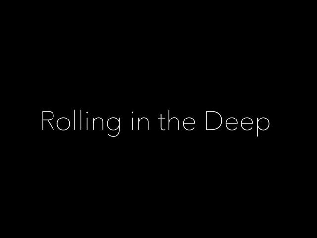 Rolling In The Deep - Adele Cover by Tumba ito