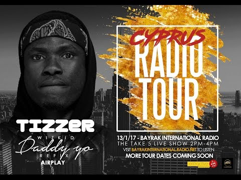 Cyprus Radio Tour with Tizzer - Day 1 (Bayrak International Radio 105.0 FM)