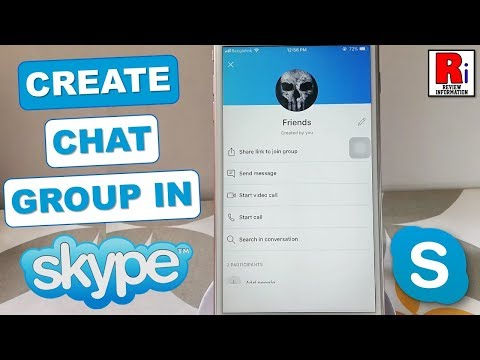 How To Create Chat Group In Skype