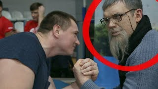 Загримировали под Дедушку Чемпиона Мира / Old Man Prank