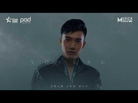 VÔ CÙNG - Phạm Anh Duy (Lyric MV)