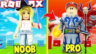 JAK ZOSTAĆ PRO CZARODZIEJEM W ROBLOX?! (Roblox Magic Simulator) Vito i Bella