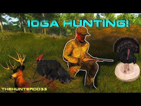 10Ga TURKEY Hunting!!  THEHUNTER 2017