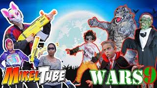 MikelTube Wars 9 Halloween VS Fortnite 🎃