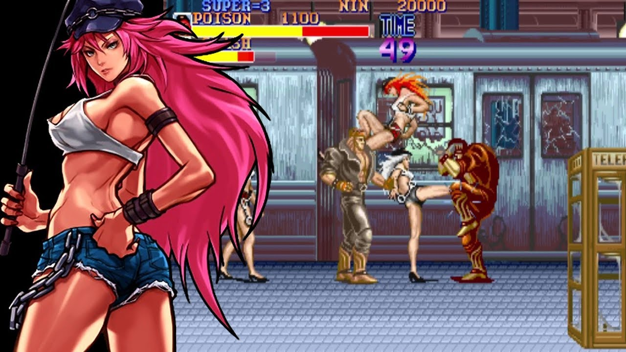 Final Fight Poison