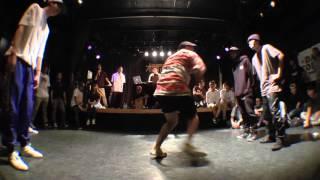 TAKADANOBABA Original Artform vs RASKAL&FROG MAN preliminary / eaST.side.jack 2015
